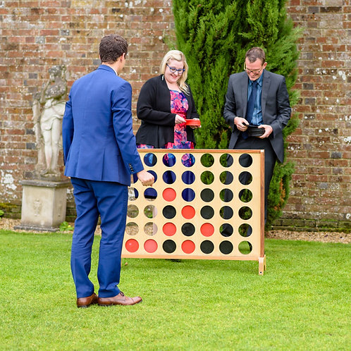 Garden Game - Connect 4 (package 3 for £60)