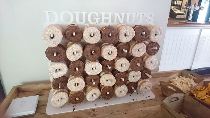 Donut Wall Doughnut Stand for 100 donuts