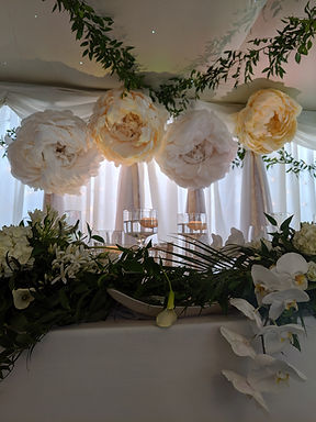 Backdrop Paper Flower - Giant Peony