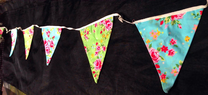 Bunting - Cath Kidson style