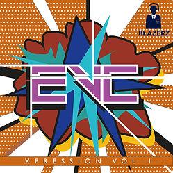 EVC - XPRESSION VOL 1 - art work #Blazer