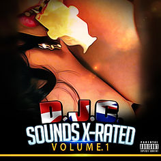 DJC – Sounds X-Rated Volume 1 mp3 front