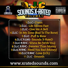 DJC – Sounds X-Rated Volume 1 mp3 back