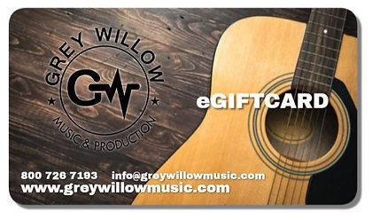 Grey Willow Music eGift Card