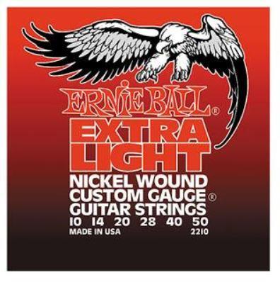 Ernie Ball Nickel Wound Light Electric Guitar Strings - .011 - .052 Gauge w/woun