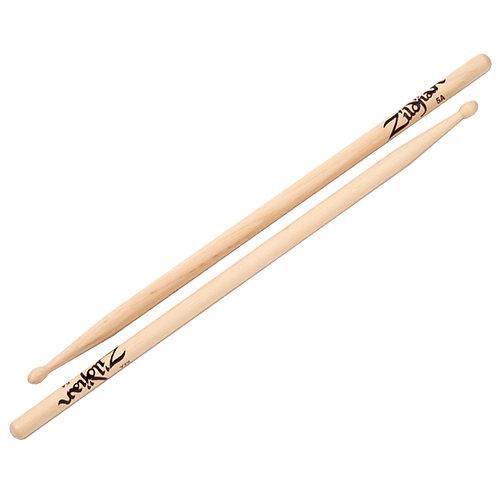 Zildjian Z5A Natural Hickory Series 5A Wood Tip Drum Sticks