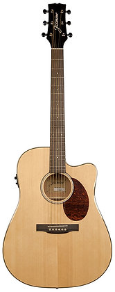 Jasmine - Fw-Jasmine Jd37 Drd Ae Ca Solid Natural Acoustic/Electric Guitar