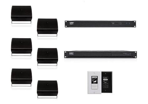 QSC SPORTS-BAR-2-K Medium Sports Bar Commercial Sound Bundle