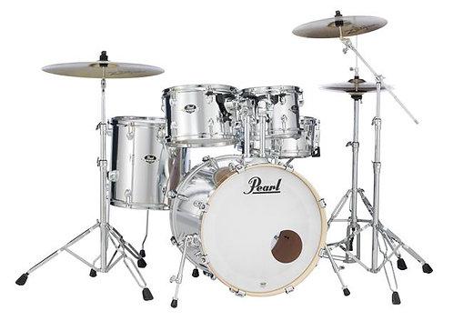 Pearl Export Series 5-Piece Drum Set w/ 830 Series Hardware - Mirror Chrome
