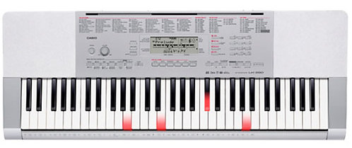 Casio LK280 features a 61-Key Piano