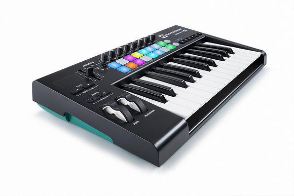 Novation LAUNCHKEY-25-MK2 Launchkey 25 MK2 25-Key Keyboard