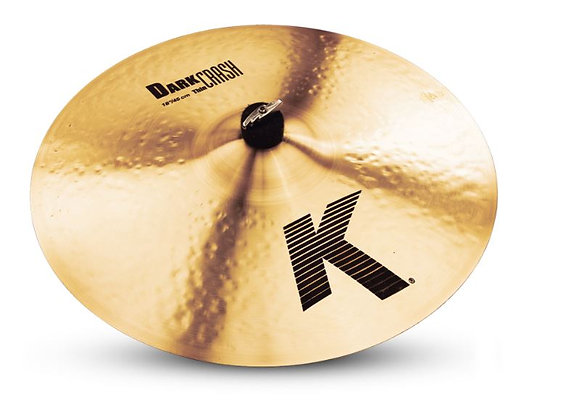 "Zildjian K0904 [RESTOCK ITEM] 18"" K Series Dark Thin Crash Cymbal"
