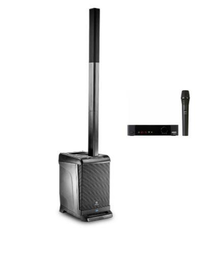 JBL EON-1-DMS100-V-K Portable PA Bundle with AKG DMS100 Handheld Wireless