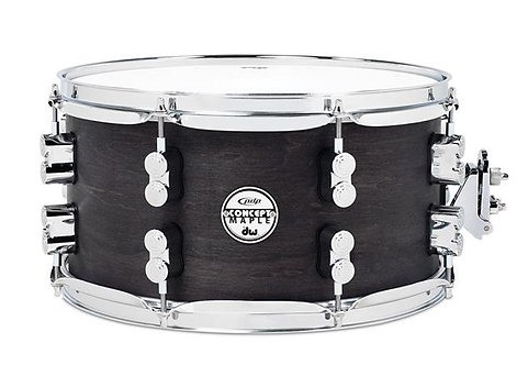 Pacific SN0713BWCR 7x13 Black Wax over Maple Snare Drum