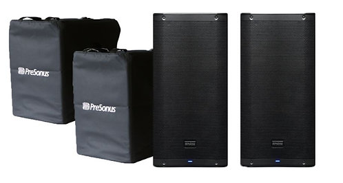 PreSonus AIR12-2-PACK-PROMO Pair of PreSonus AIR12 Speakers with Free Covers