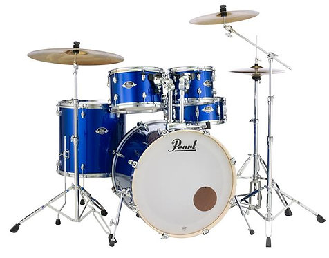 Pearl EXX725SC717 Export Series 22/10/12/16/14S 5-Piece Shell Pack Drum Kit - Hi