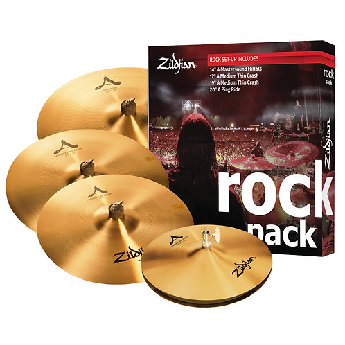 Zildjian A0801R Rock Music Pack Cymbal Set