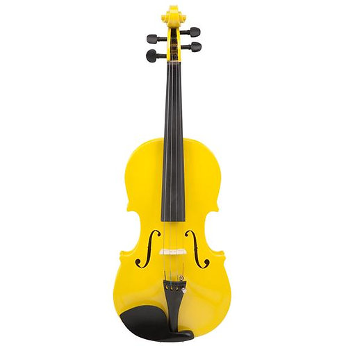 Le'Var - 4/4 Student Violin Outfit - Mellow Yellow