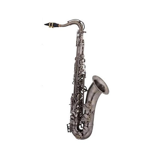 Ravel Bb Tenor Saxophone w/ Case - Vintage Brass Finish
