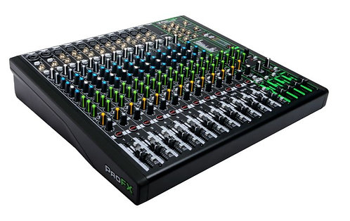 Mackie PROFX16V3 16 Channel 4-bus Effects Mixer with USB