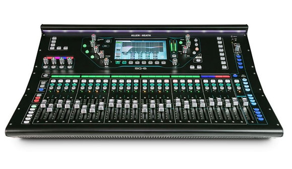 Allen & Heath AH-SQ-696kHz XCVI FPGA processing, 48 Input Channels, DEE