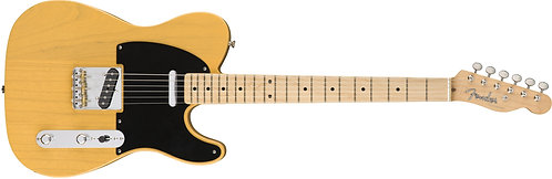 Fender American Original '50s Telecaster Tele Solidbody Electric Guitar with Map