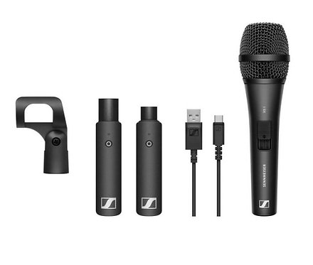 Sennheiser - XSW-D VOCAL SETVocal set with (1) XS1 cardioid dynamic mic, (1)