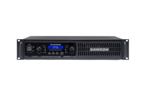 SAMSON - SXD30002 x 450 watts (4 ohms) Power Amplifier with DSP
