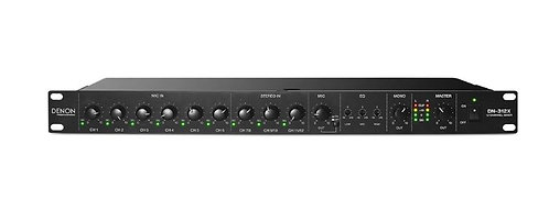 Denon DN-312X 12-Channel Line Mixer with Priority
