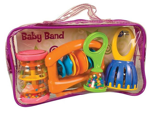 Hohner Kids Musical Toys MS9000 Baby Band - Colors of Product May Vary