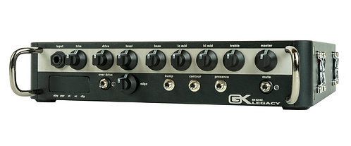 Gallien-Krueger Legacy 500 500-W Bass Head with a Class D Power Amp, Analog Prea