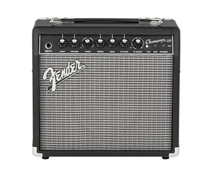 """Fender Champion 20 20W 1-Channel 1x8"""" Solid-State Guitar Combo Amplifier"""
