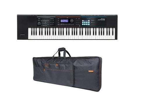 Roland JUNO-DS76 Synthesizer Bundle 76-Key Synthesizer with Keyboard Bag