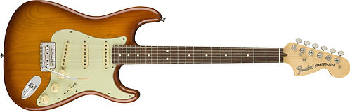 Fender American Performer Stratocaster Strat Solidbody Electric Guitar with rose