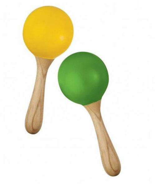 Hohner Green Tones Egg Maracas