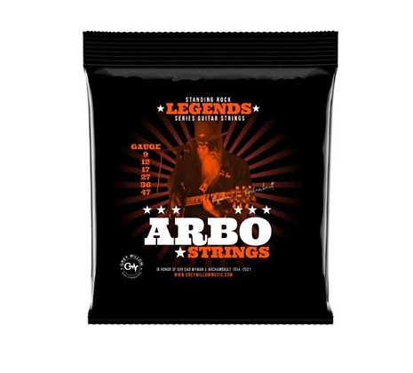 GWM - ARBO STRINGS P324 Nickel Electric Guitar Strings .009