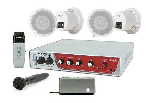 TeachLogic IRM-5650/CS4 Classroom Sound Field System with Maxim III Amplifier, 4