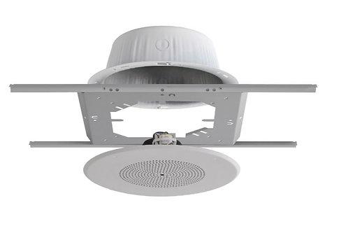 Quam SOLUTION-2 Ceiling Speaker Bundle with 2 8C10X/BU/WS/VC Speakers, Back Cans