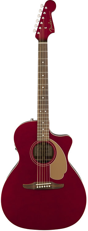 Fender Newporter Player Series Acoustic-Electric Guitar with Solid Sitka Spruce