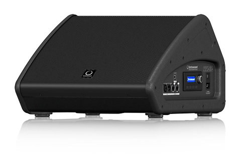 """Turbosound TFX122M-AN 12"""" 2-Way Powered Coaxial Stage Monitor, 1100W, Black"""