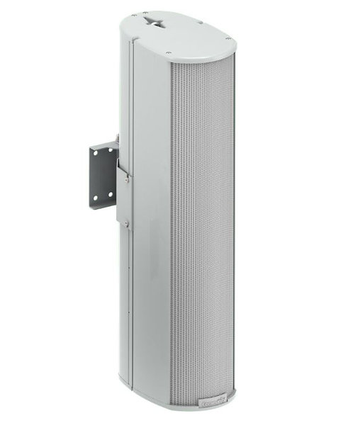 Community ENT206W 2-Way Compact Column Array Speaker, Weather Resistant, White