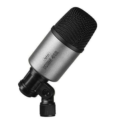 CAD Audio KBM412 Neodymium Dynamic Bass Microphone, Cardioid