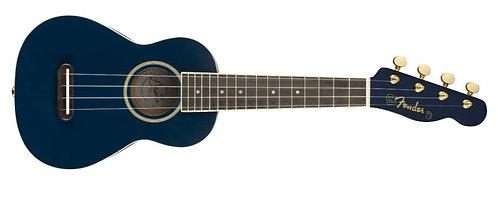 "Fender Grace VanderWaal ""Moonlight"" Sopra Ukulele in Moonlight Navy Blue"