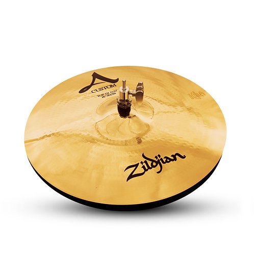"Zildjian A20510 14"" A Custom Brilliant Finish HiHats"