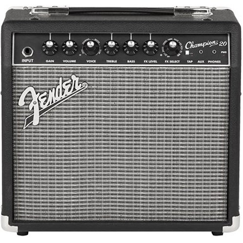 "Fender Champion 20 20W 1-Channel 1x8"" Solid-State Guitar Combo Amplifier"