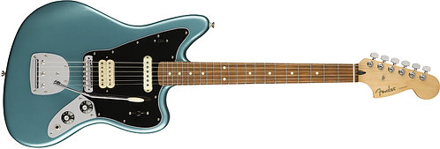 Fender Player Series Jaguar Offset Solidbody Electric Guitar with Pau Ferro Fing