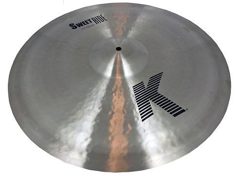 """Zildjian K0731 21"""" K Zildjian Sweet Ride Cymbal"""