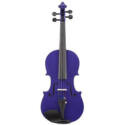 Le'Var - 4/4 Student Violin Outfit - Pop Purple