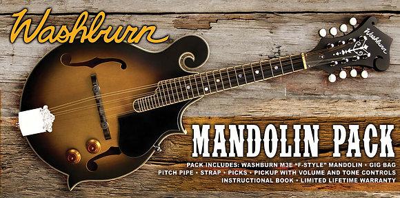 Washburn - Mandolin Kit - F Style W/P'up W/Gig Bag