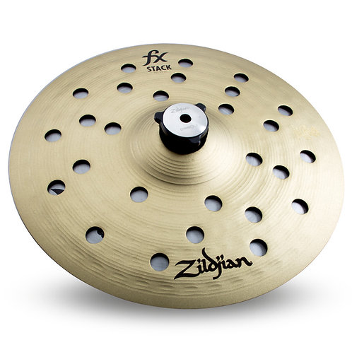 """Zildjian 10"""" FX Stack with Mount 10"""" Cymbal Stack Pair with Threaded Stand Adapt"""